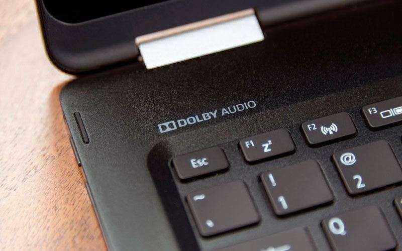 Звук в Acer Spin 7