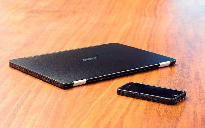 Самый тонкий ультрабук Acer Spin 7