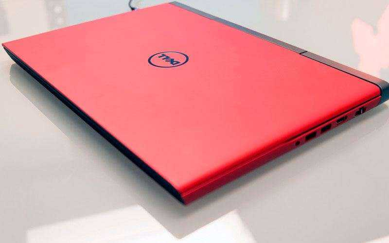 Дизайн Dell Inspiron 15 Gaming