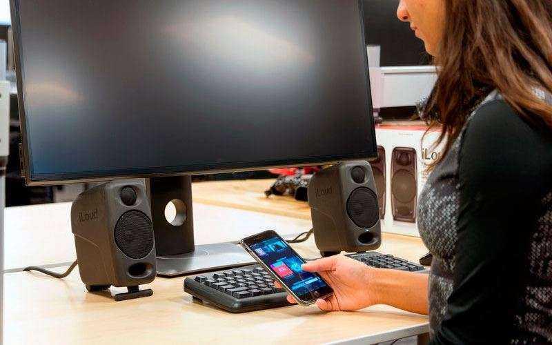 Дизайн IK Multimedia iLoud Micro Monitor