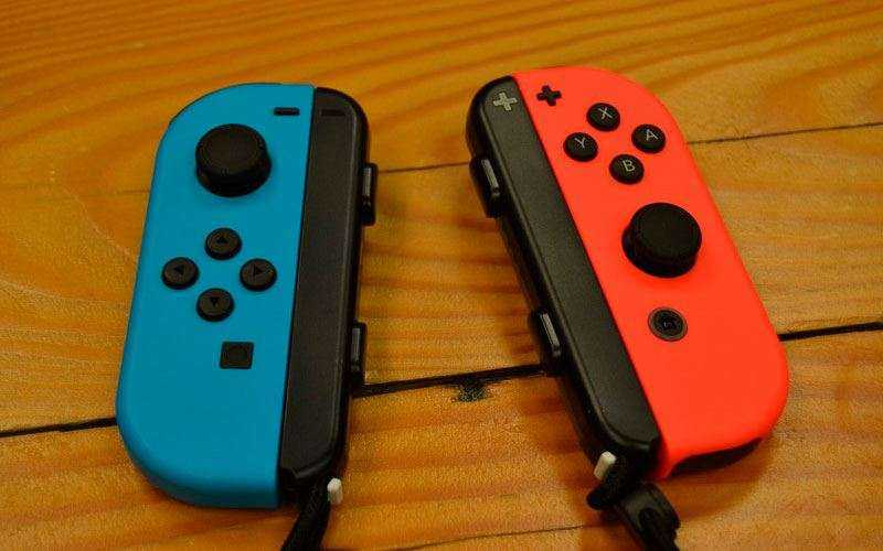 Контроллеры Nintendo Switch