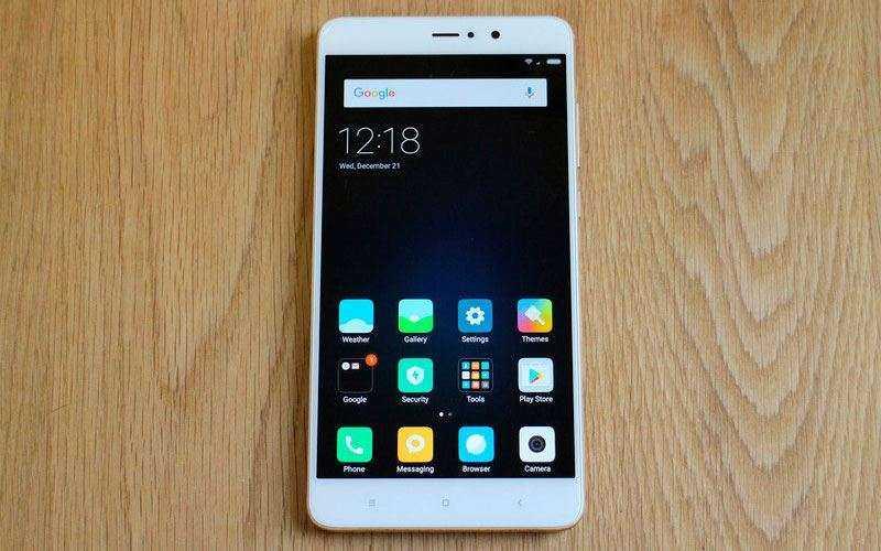 ОС Xiaomi Mi5S Plus