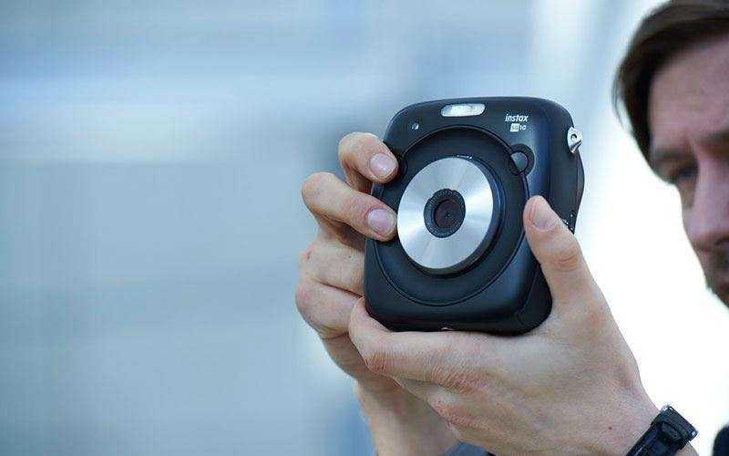 Fujifilm Instax SQ10 фотоаппарат мгновенной съемки, который Вы захотите