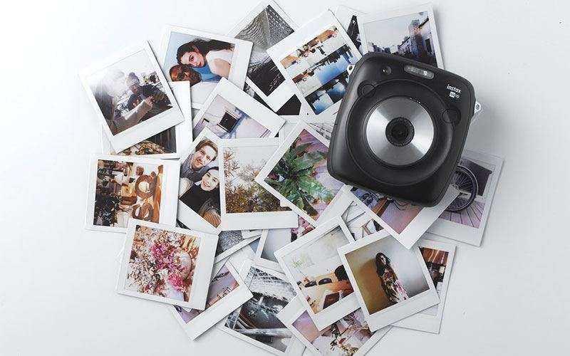 Fujifilm Instax SQ10 - Фотоаппарат мгновенной съемки с новым форматом