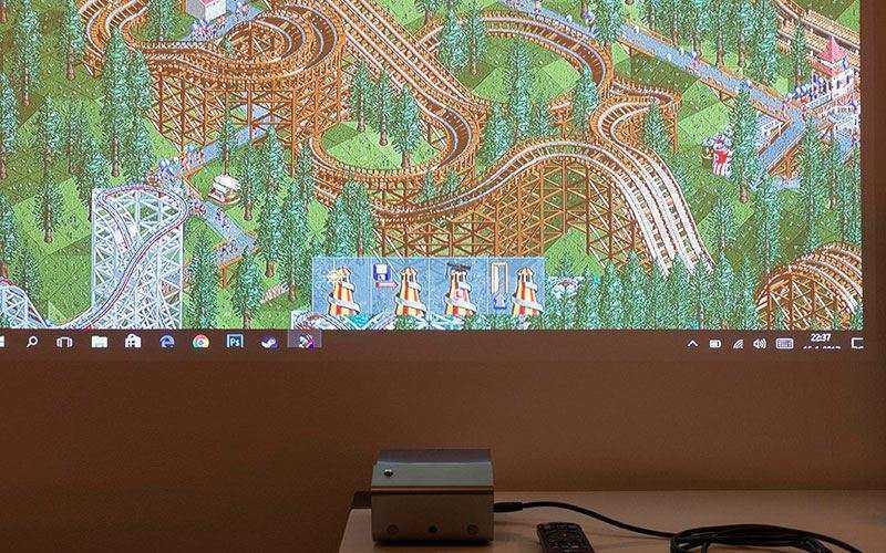 LG PH450UG качество изображения