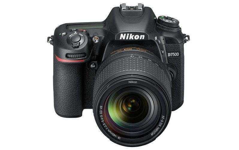 Фотоаппарат Nikon D7500 получает больше скорости, 4K с уменьшением мегапикселей