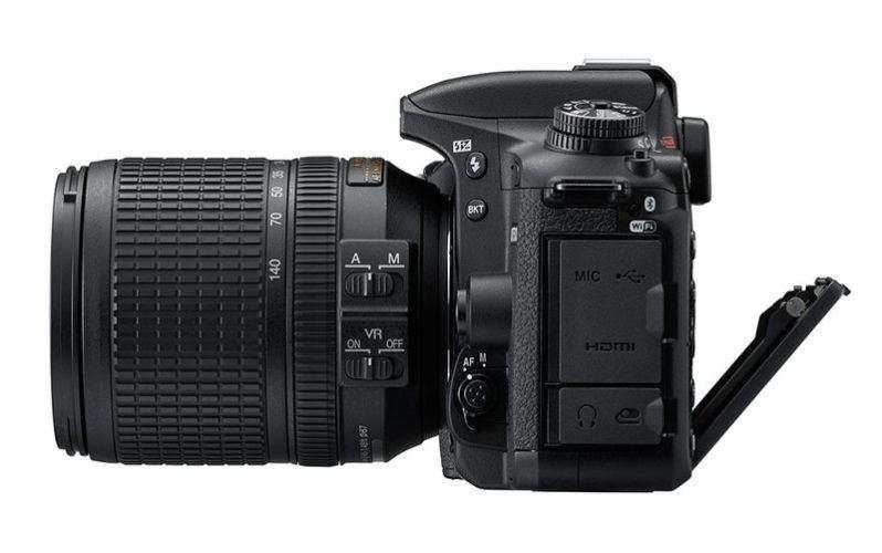 Взгляд на Nikon D7500