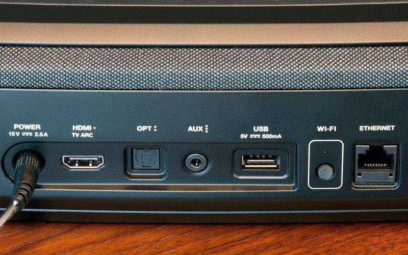 Порты Polk Audio MagniFi Mini