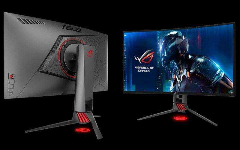 Asus представила два новых игровых монитора ROG Swift PG27VQ и ROG Strix XG27VQ