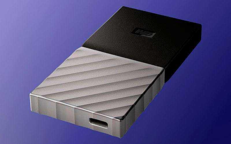 Портативный накопитель Western Digital Passport SSD теперь с емкостью 1ТБ