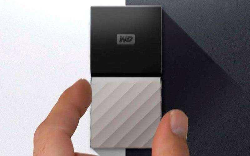 Твердотельный Western Digital Passport SSD