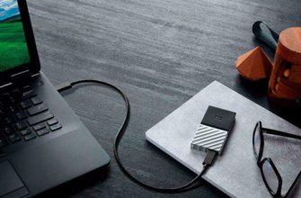 Western Digital Passport SSD - Портативный накопитель емкостью 1ТБ
