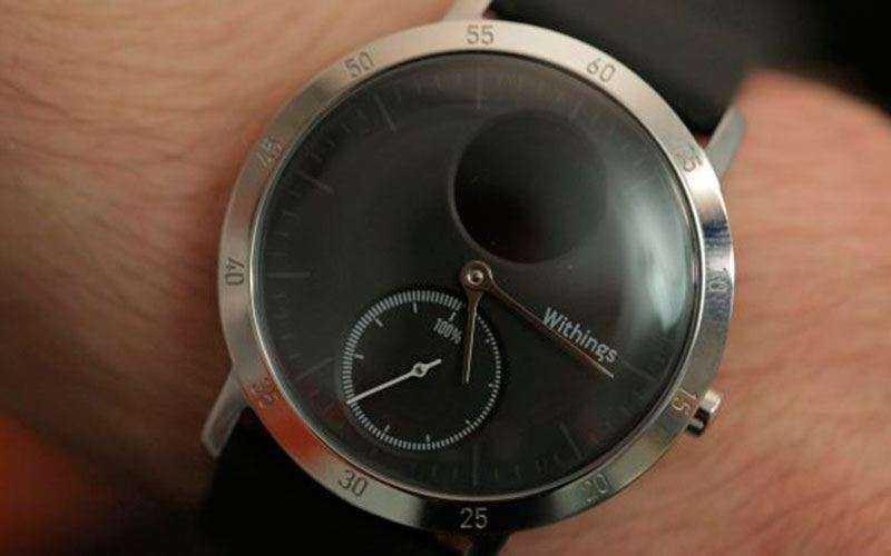 Гибридные часы Withings Steel HR - Отзывы