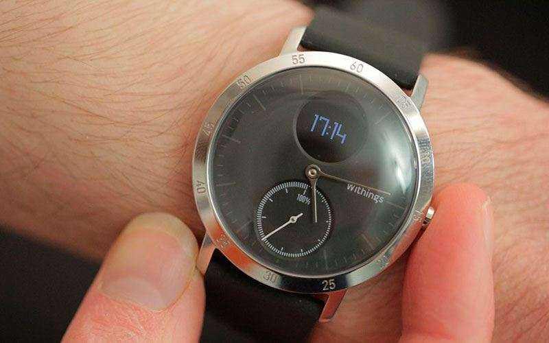 Обзор Withings Steel HR - Классические смарт-часы с пульсометром