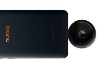 ZTE Nubia NeoAir VR – Камера 360 градусов для Android-смартфонов