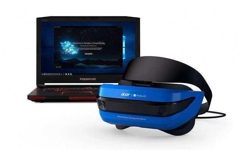 Acer Windows Mixed Reality – Гарнитура смешанной реальности для Windows 10