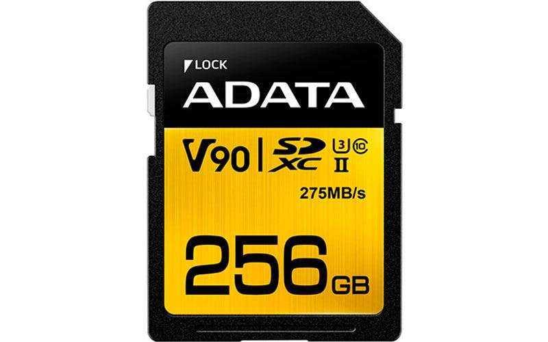 Новые карты памяти ADATA Premier One UHS-I и Premier UHS-II поддерживают высокоскоростное видео