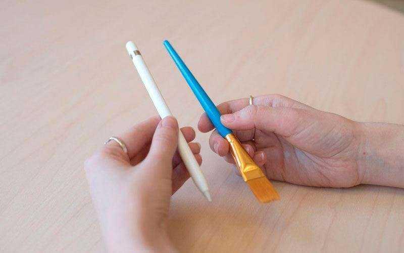 Перо стилус Apple Pencil