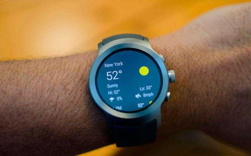 Конструкция и характеристики LG Watch Sport