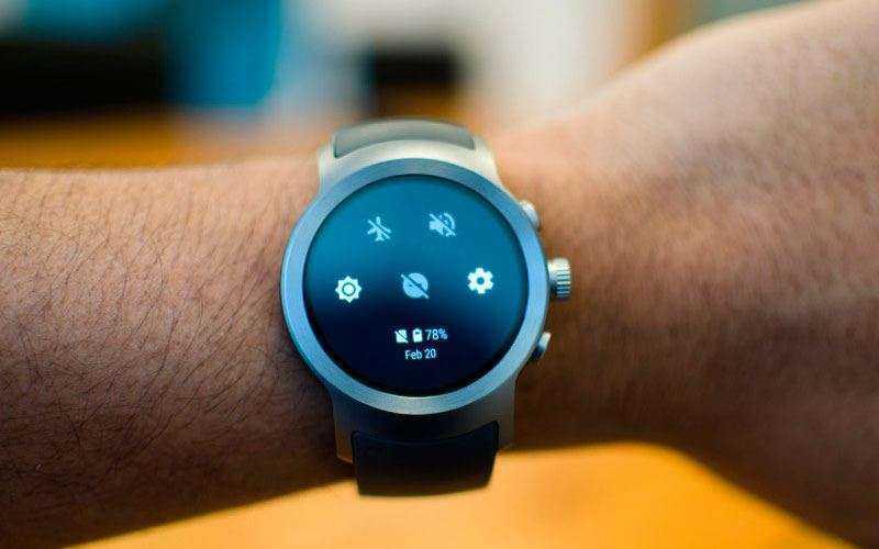 Настройка LG Watch Sport