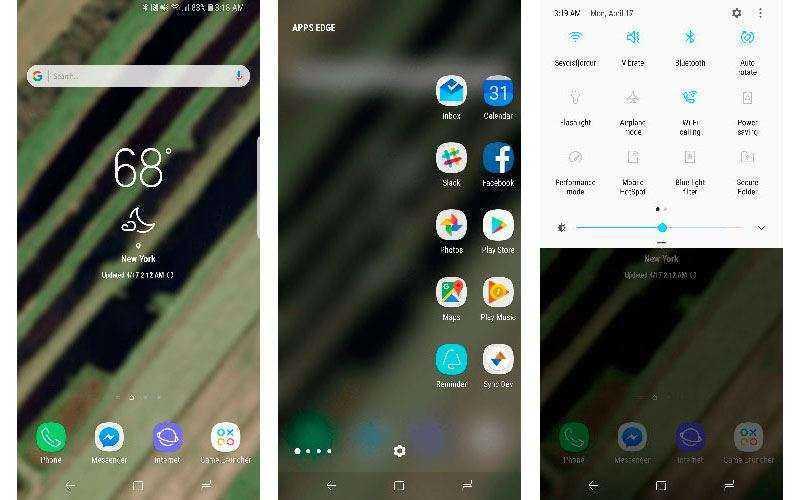 ОС Samsung Galaxy S8