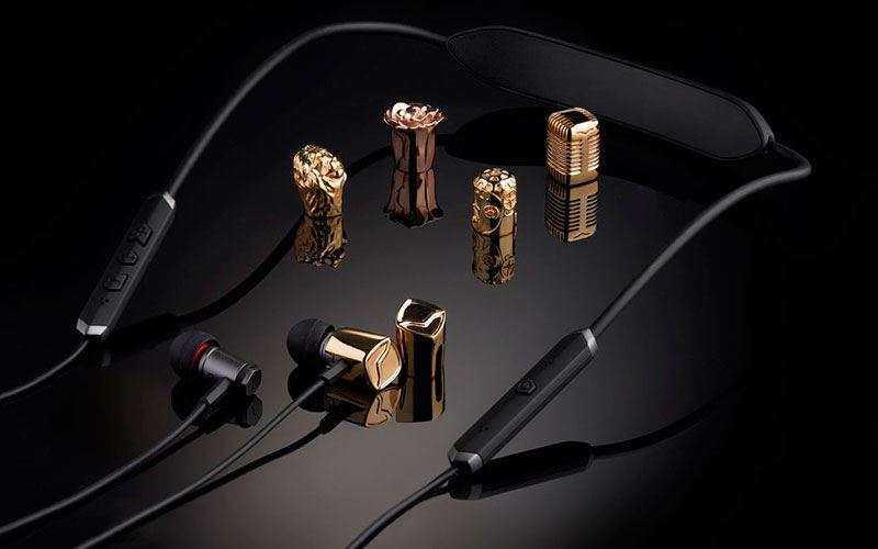 Bluetooth наушники V-MODA Forza Metallo Wireless с шейным ободком сочетают эргономику и стиль
