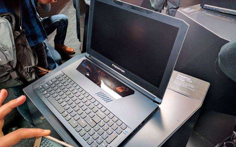 Дизайн Acer Predator Triton 700