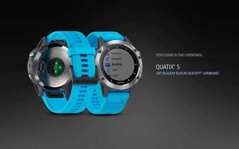 Смарт-часы для моряков Garmin Quatix 5