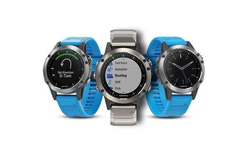 Часы для моряков Garmin Quatix 5