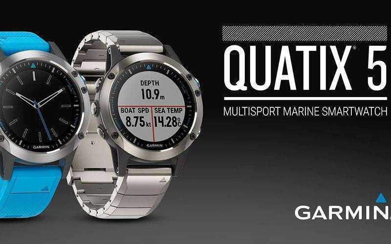 Garmin Quatix 5 – Морские смарт-часы для любителей открытых вод
