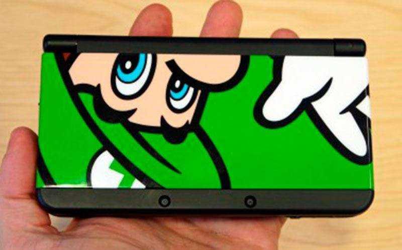 Дизайн New Nintendo 3DS