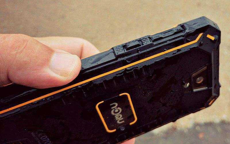 Дизайн Nomu S30 и качество сборки