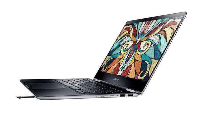 Samsung Notebook 9 Pro 2-в-1 первый ноутбук, оборудованный стилусом S-Pen