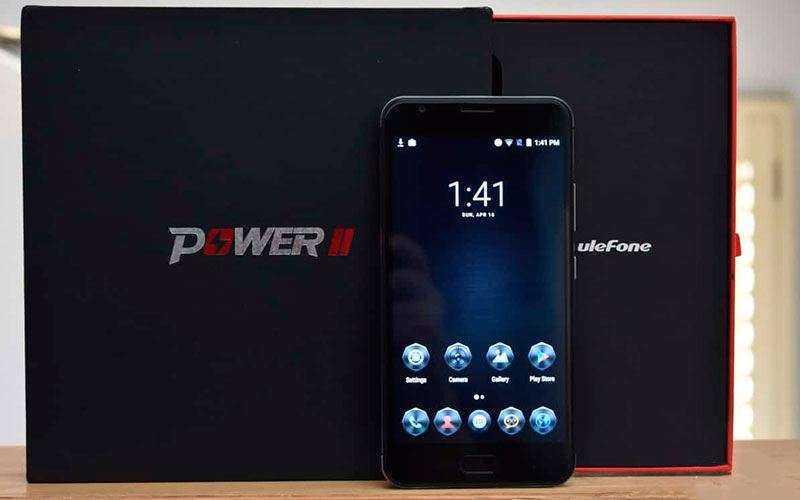 Ulefone Power 2 из коробки