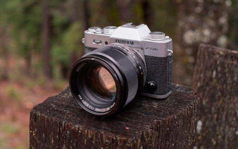 Дизайн Fujifilm X-T20 и отличия