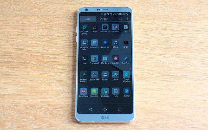 Интерейс LG G6