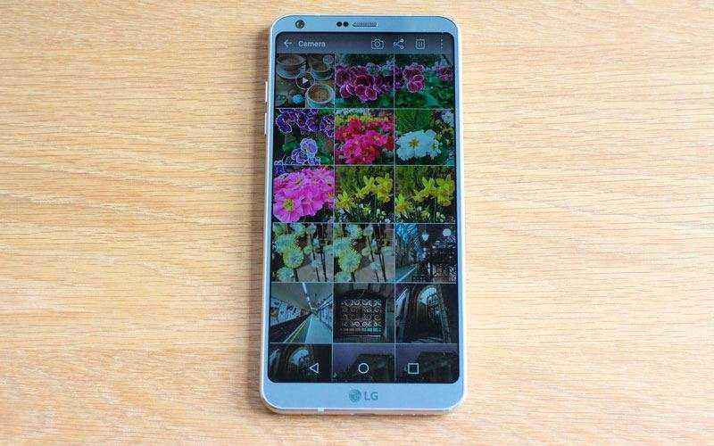 LG G6 фото