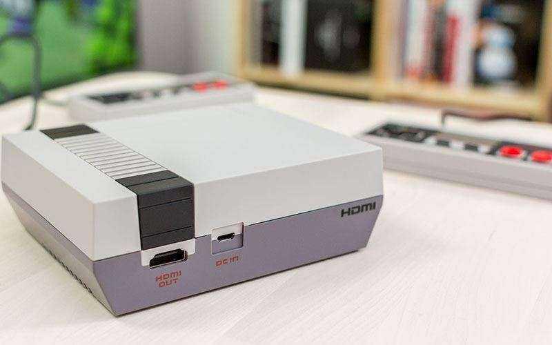 Дизайн Nintendo Classic Mini