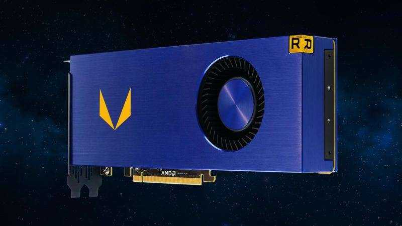 AMD выпускает самую быструю видеокарту Vega Frontier Edition