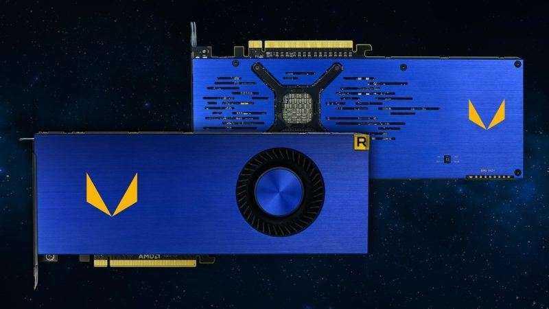 Видеокарта AMD Vega Frontier Edition