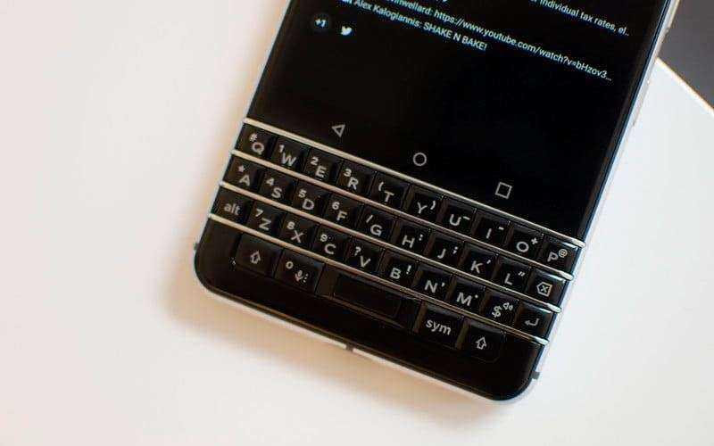 Клавиатура BlackBerry KeyOne