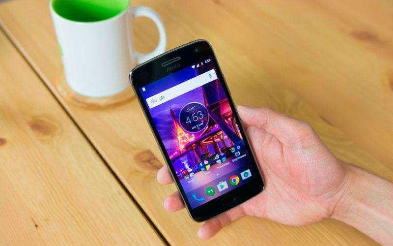 Экран Moto G5 Plus