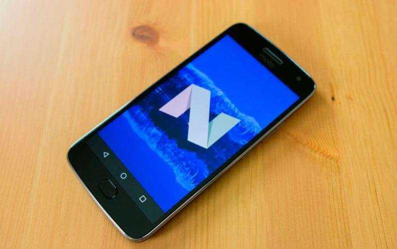 ОС Moto G5 Plus