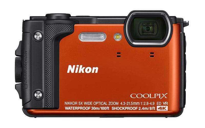 Новый фотоаппарат Nikon Coolpix W300 позволяет снимать под водой в 4K