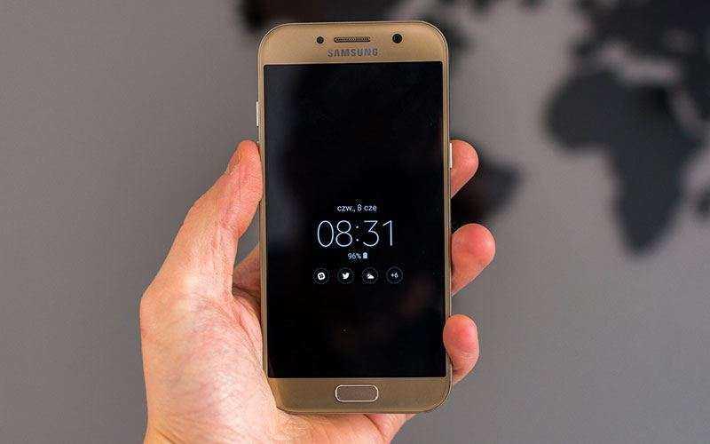 Недостатки Samsung Galaxy A5 2017