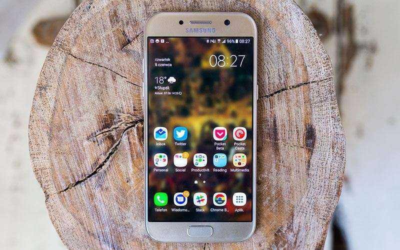 ПО в Samsung Galaxy A5 2017