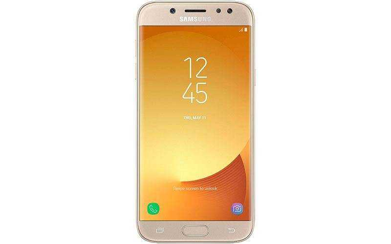 смартфоны Samsung Galaxy J3, Galaxy J5 и Galaxy J7 (2017)