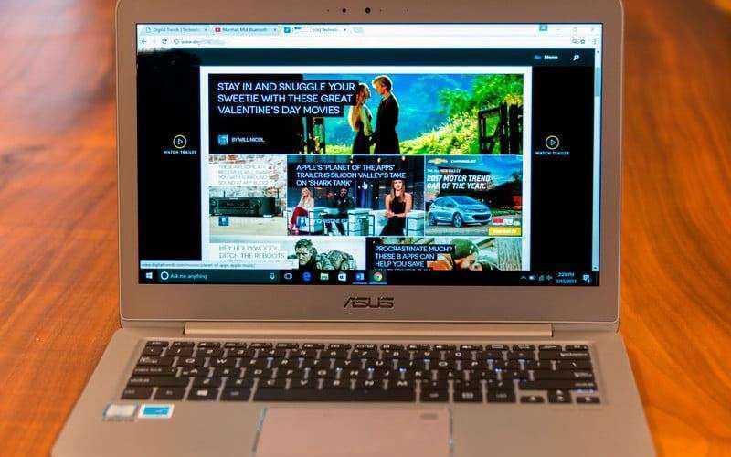 Обновлённый ультрабук Asus Zenbook UX330UA — Отзывы