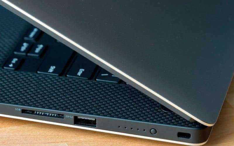Дизайн Dell XPS 15 9560