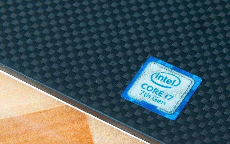 Процессор Dell XPS 15 9560